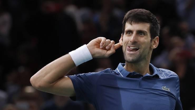 Novak Djokovic ist machthungrig und hört auf Spieler, die gleicher Meinung sind.