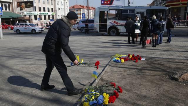 Russland und Ukraine vereinbaren Waffenruhe. (Symbolbild)