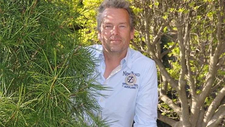 Gartencenter-Chef Ralph Hoffmann: «Vor elf Jahren standen wir wesentlich flachbrüstiger da.»zim