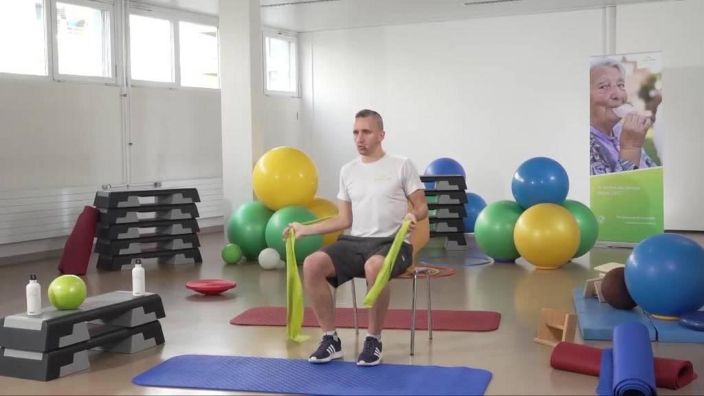 «Gymnastik im Wohnzimmer» vom 21. Juli 2021