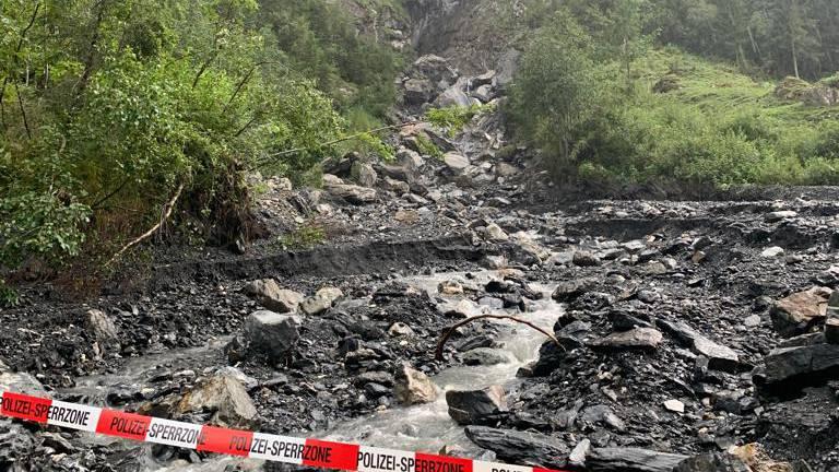 Verunfallte Canyoning-Gruppe war erfahren – Suche nach Vermisstem unterbrochen