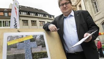 Gehört fortan nicht mehr der SVP Waadt an: Claude-Alain Voiblet. (Archivbild)