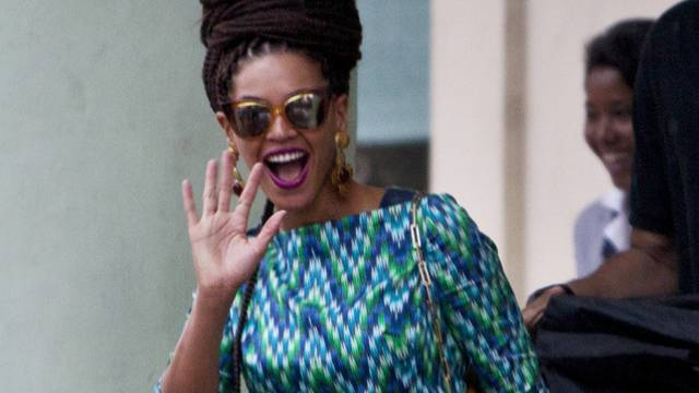 Am Freitag reiste Popstar Beyoncé mit Ehemann Jay-Z nach Havanna (Archiv)