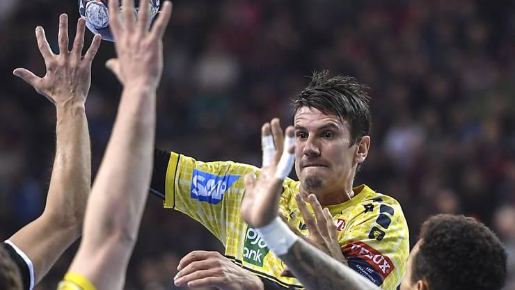 Andy Schmid ist in der Bundesliga kaum zu stoppen