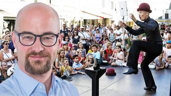 Christoph Erne wird neuer OK-Präsident des Lenzburger Gauklerfestivals.