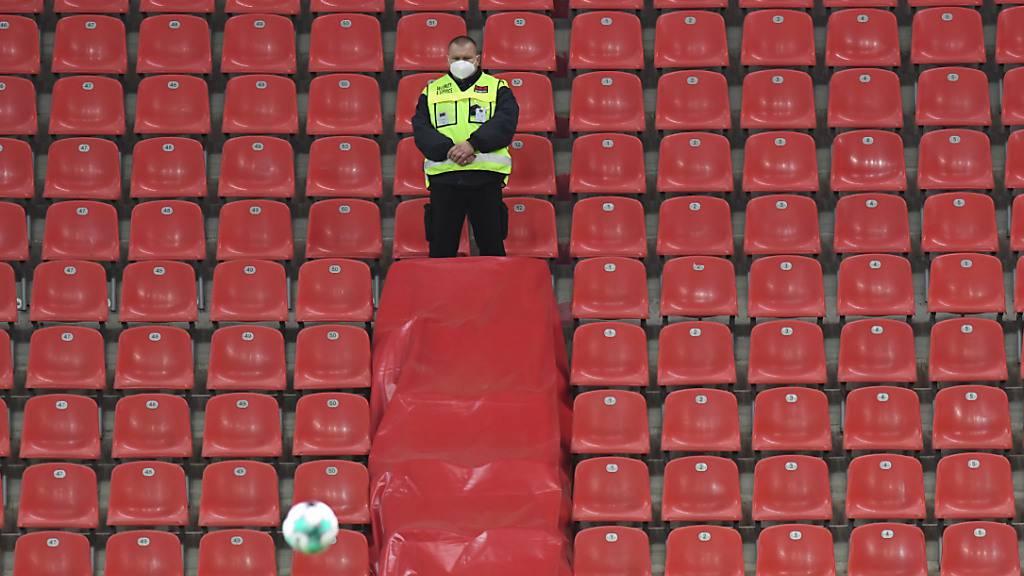 Wegen fehlenden Zuschauer-Einnahmen können die Schweizer Klubs Bundesgelder beantragen