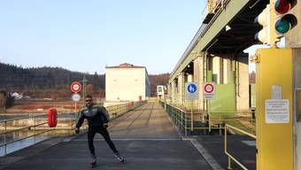 Die Grenzübergänge auf Kraftwerken
