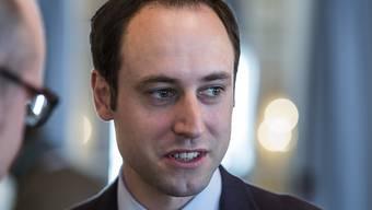 FDP-Nationalrat Christian Wasserfallen möchte 2018 den Sprung in den bernischen Regierungsrat schaffen.