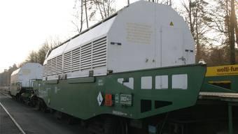 Atommüll-Transport ins Zwilag in Würenlingen (Archivbild)