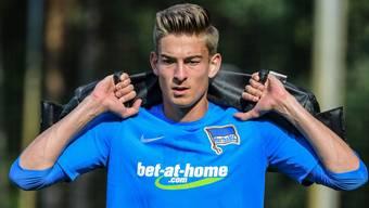 Jonathan Klinsmann stand seit Juli 2017 beim Bundesligisten Hertha in Berlin unter Vertrag. Kürzlich ist sein Kontrakt ausgelaufen.