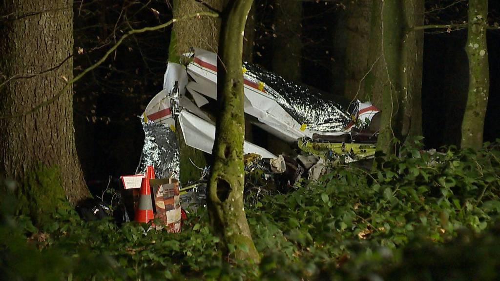 Pilot stirbt bei Absturz eines Kleinflugzeugs in Schongau (LU)