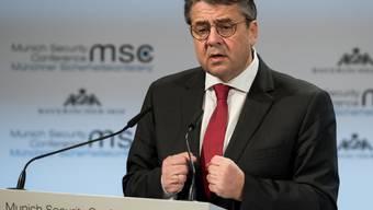 In seiner möglicherweise letzten grossen Rede plädierte der deutschen Aussenminister Sigmar Gabriel für mehr Engagements Europas in der Welt.