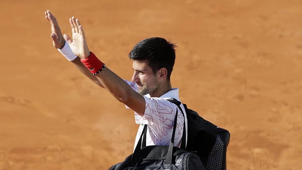 Novak Djokovic hat sich noch nicht entschieden, ob er beim US Open antritt.