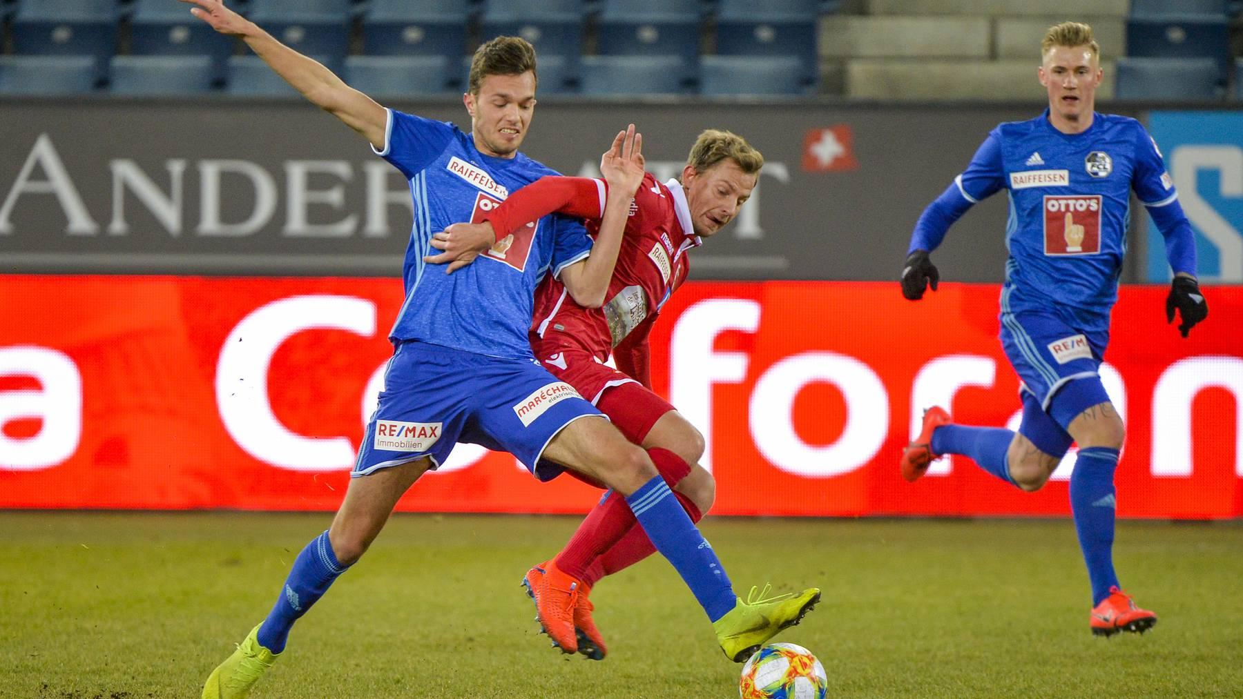 FC Luzern verliert gegen Sion 1:3