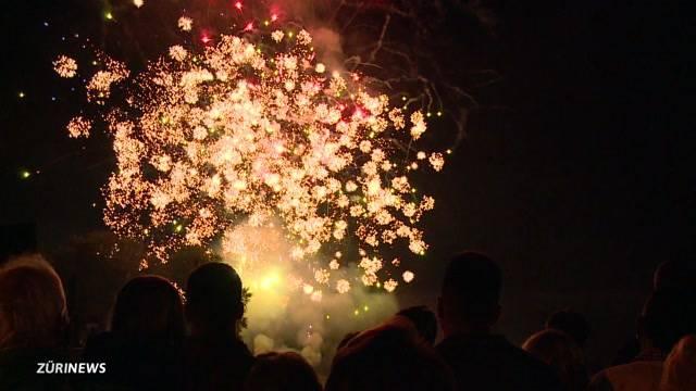 Immer beliebter: Feuerwerk von Stein am Rhein