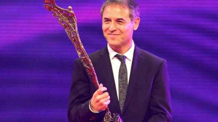 """Marcel Koller erhielt am Donnerstagabend bei der Sportlerwahl in Wien einen """"Special Award"""""""