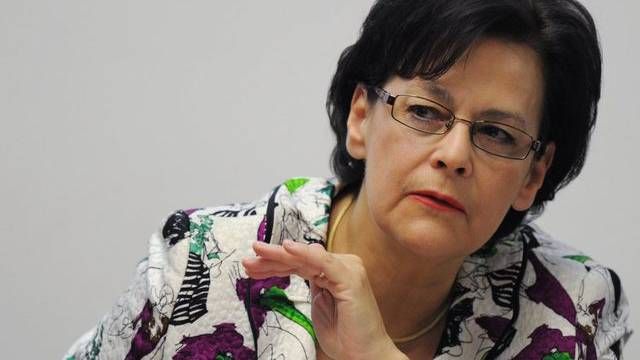 Unter anderen in der Kritik der PUK: Die Zürcher Finanzdirektorin Ursula Gut (Archiv)
