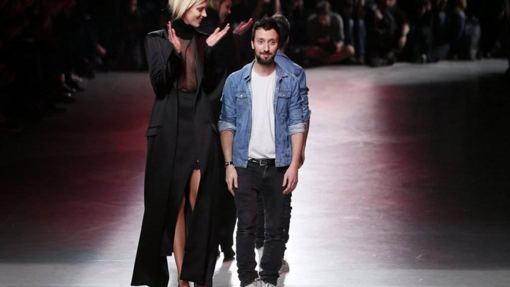 Wird als grosses Talent in der Modebranche gehandelt: Anthony Vaccarello. (Archivbild)