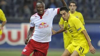 Starker Europacup-Auftritt des Kameruners Somen Tchoyi (l.) im Dress der Salzburger