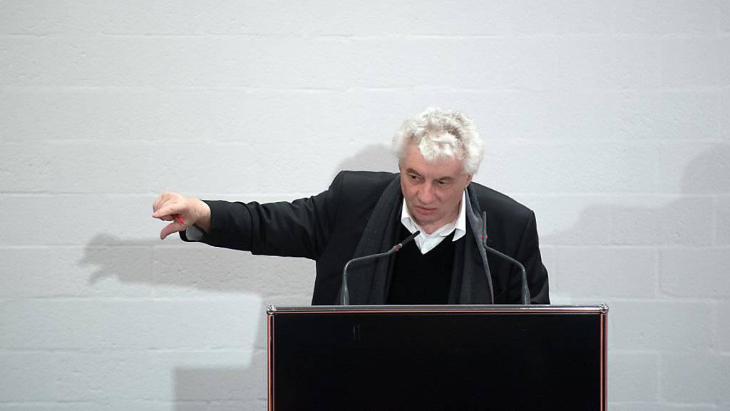 Mario Botta, Architekt und Präsident der Stiftung für Theater