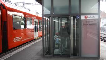 Sorgte zuletzt für etlichen Ärger: der RBS-Personenlift am Hauptbahnhof Süd.