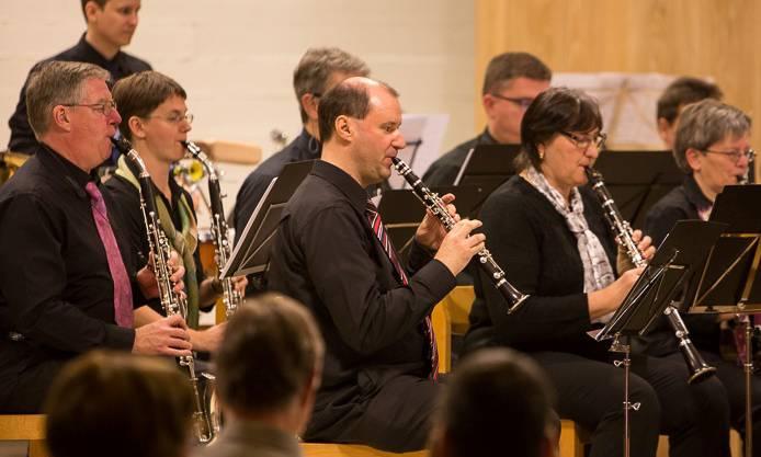 Concertino mit dem Klarinettenchor Wettingen