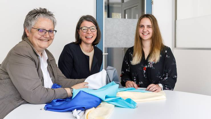 Die BETHGE AG aus Zofingen ist in Frauenhand: v.l. Kathrin Bohnenblust (COO), Brigitta Mettler (CEO), Ivana Martic (CFO).