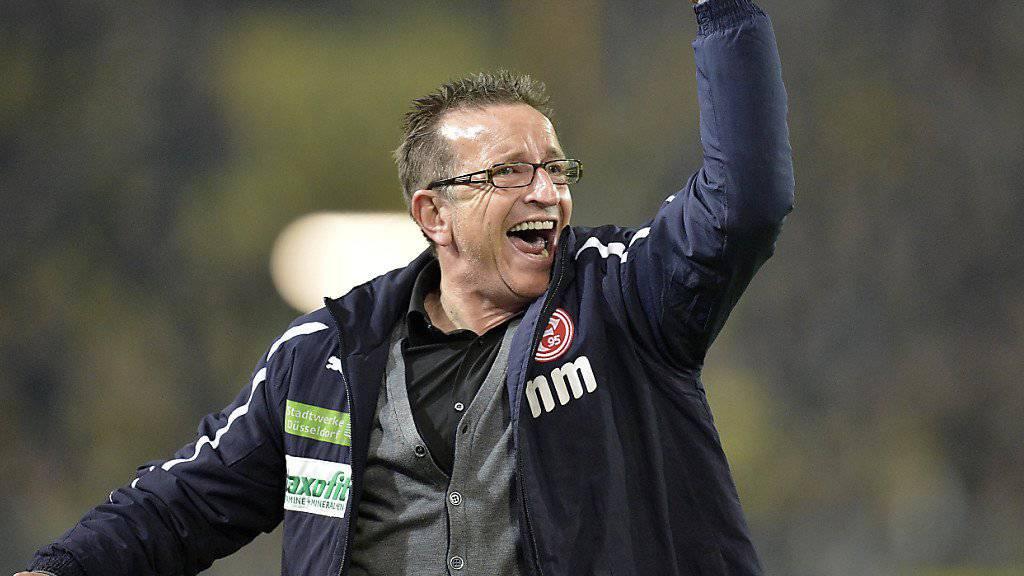 Führte Fortuna Düsseldorf 2012 in die  1. Bundesliga: Norbert Meier