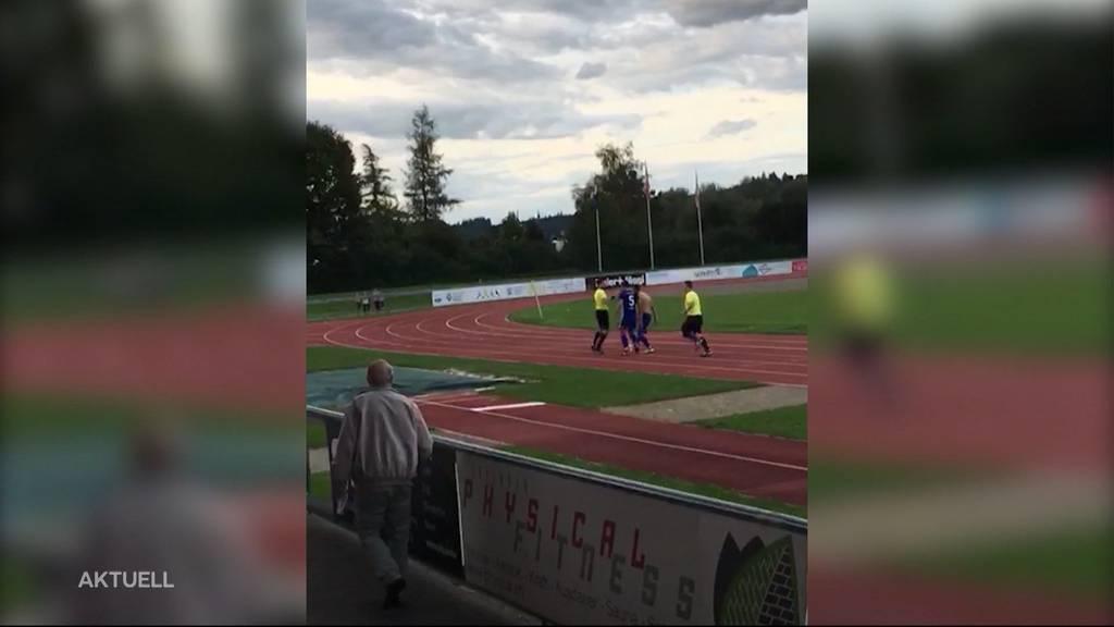 Eklat bei 2.-Liga-Spiel in Zofingen