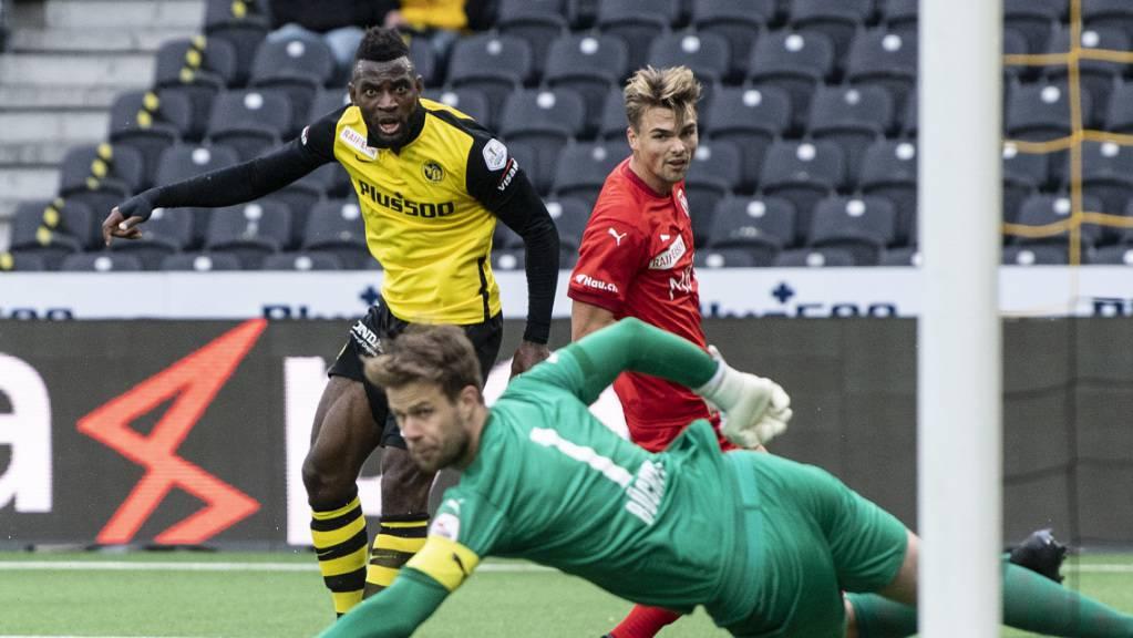 Jean-Pierre Nsame schiesst die Young Boys zum Sieg über Vaduz.