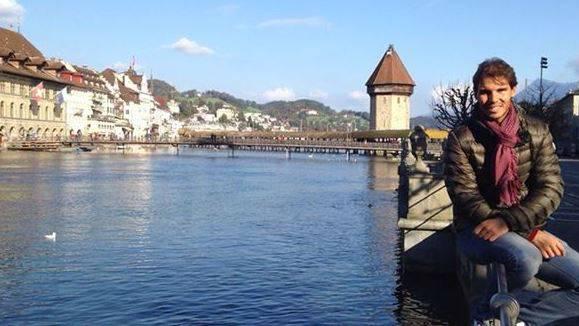 Rafael Nadal zu Besuch in Luzern