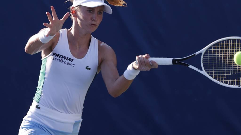 Jil Teichmann erhofft sich den Sprung in die Top 50 des WTA-Rankings