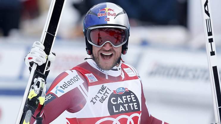 Aksel Lund Svindal konnte diese Saison bereits sieben Weltcupsiege feiern.