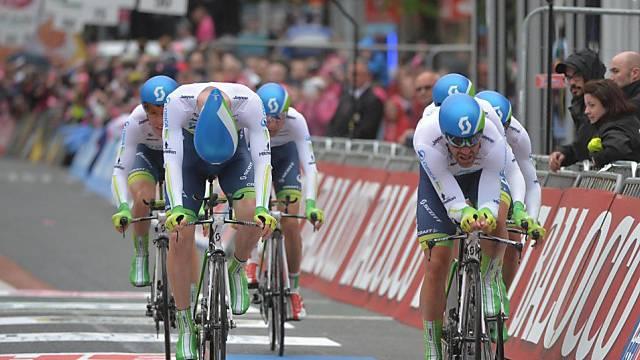 Das Team von Orica GreenEdge gewinnt den Auftakt des Giro