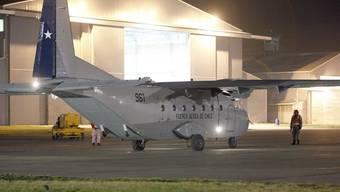 Derselbe Flugzeugtyp der chilenischen Airforce stürzte mit 21 Menschen an Bord ab (Archiv)