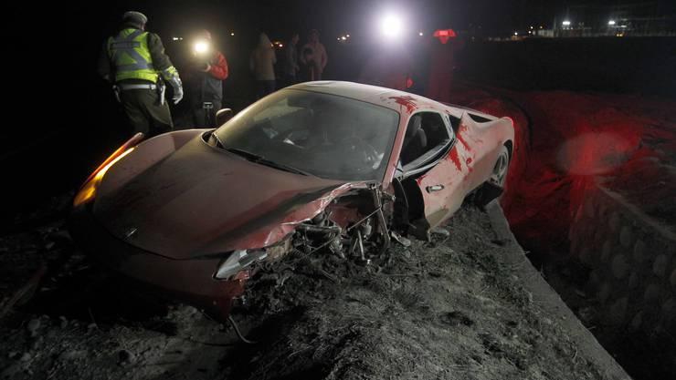 Arturo Vidal verschrottet Ferrari und wird festgenommen