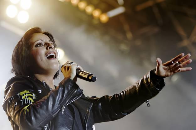 Sängerin Stefanie Kloss.