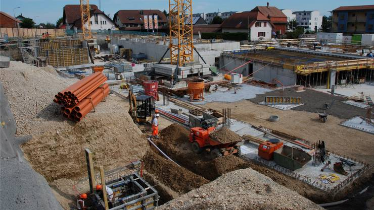 Die Baufirmen Espace Real Estate Holding AG und Bonainvest Holding AG bauen tüchtig. (Symbolbild)