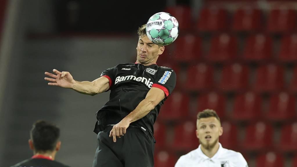 Lucas Alario war der Matchwinner in Leverkusen.