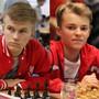 Schach dem Coronavirus: Die beiden Schweizer Schach-Junioren Oliver Angst (links) und Elias Giesinger organisieren ein Online-Turnier und unterstützen damit die Glückskette.