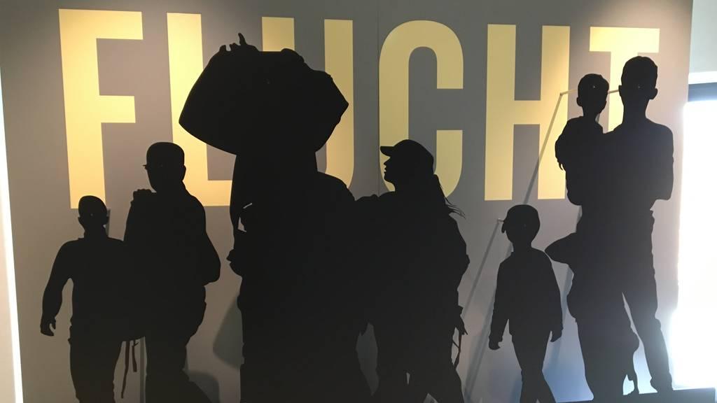 Ausstellung zum Thema «Flucht»