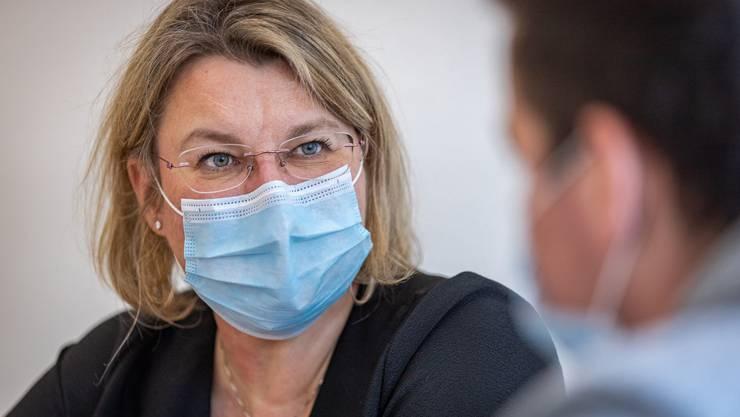 «Verletzungen der Meldepflicht zu verzeigen, halten wir für richtig», sagt Kantonsärztin Yvonne Hummel.