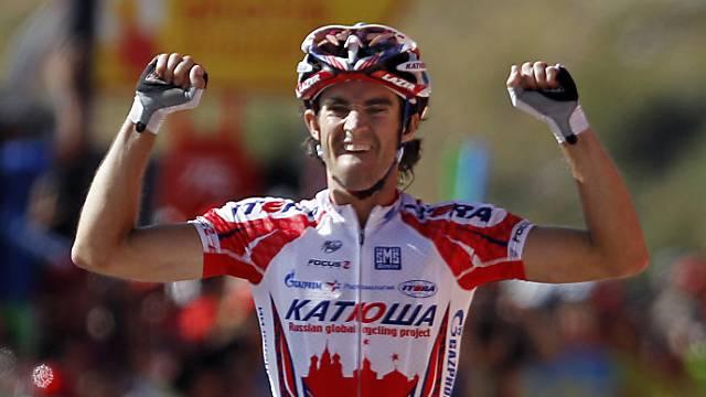 Dani Moreno entwischte vor dem Ziel und gewinnt die Flèche Wallone.