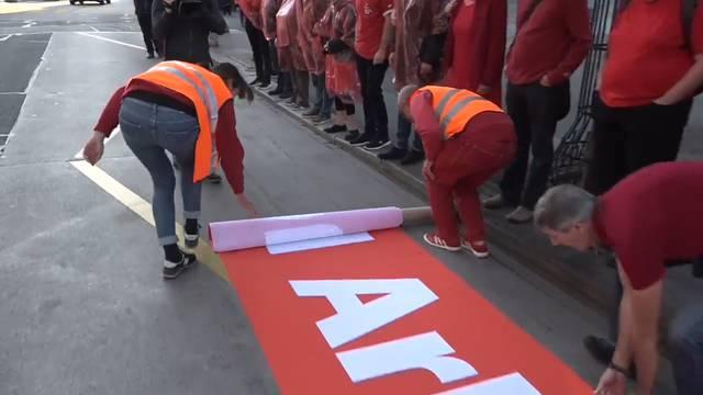 Gewerkschaften zeigen Bundesrat die «roten Linien»