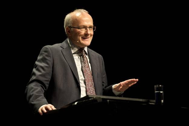 Reinhard Haller, Facharzt für Psychiatrie und Psychotherapeut, begeisterte mit seinem Vortrag.