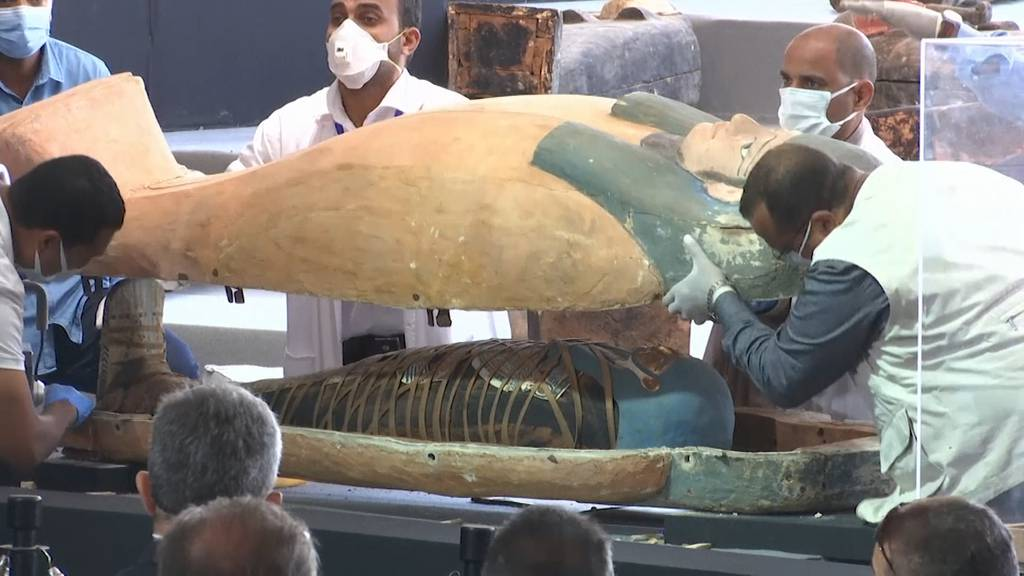 Ägypten: Archäologen finden Dutzende altägyptische Särge