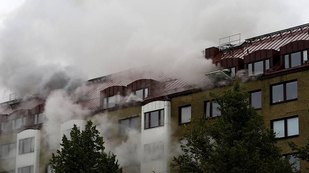 Verdächtiger von Explosion in Göteborg ist tot