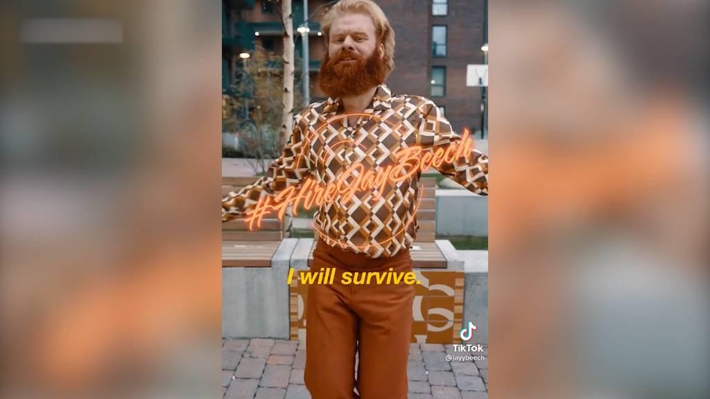 Tiktoker sucht mit «I Will Survive» nach neuem Job – und hat Erfolg