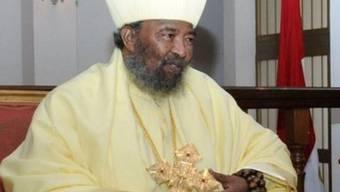 Der verstorbene Führer der äthiopisch-orthodoxen Kirche, Abuno Paules (Archiv)