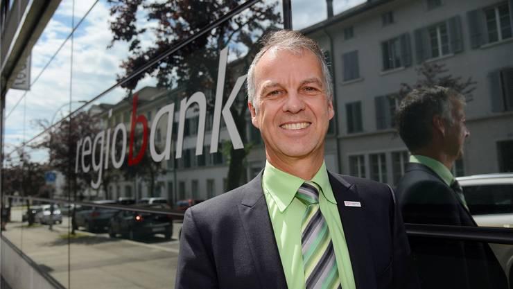 Markus Boss, Leiter der Regiobank Solothurn.